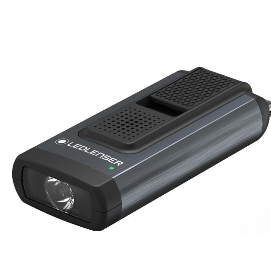 Ledlenser K6R grey, latarka brelokowa, 400lm