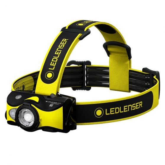 Ledlenser iH9R, latarka czołowa, 600 lm