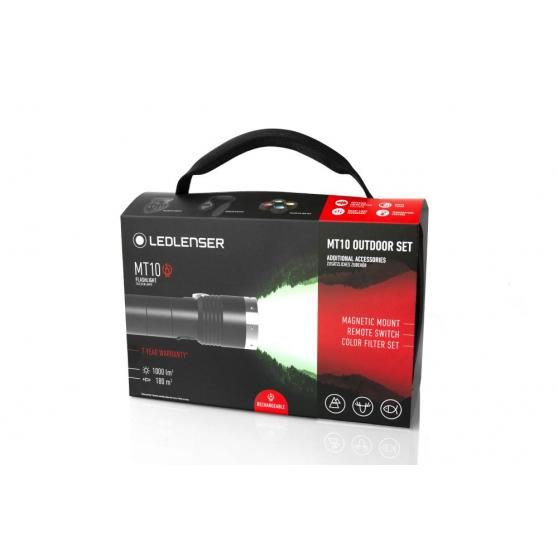 Ledlenser MT10, latarka akumulatorowa, moc 1000 lm
