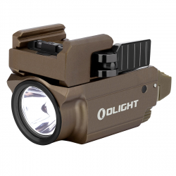 Olight Baldr RL Mini Desert Tan, latarka z celownikiem laserowym, 600 lm
