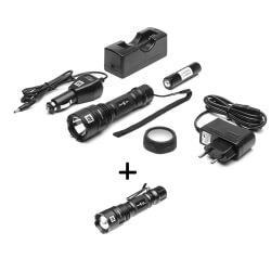 Latarka Mactronic MX532L-RC plus latarka MX512L