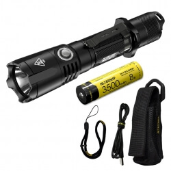 Nitecore MH25GTS, latarka taktyczna USB, 1800 lm