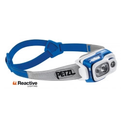 Petzl SWIFT RL, latarka czołowa, 900 lm, blue