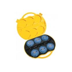 Mactronic M-flare, komplet 6 dysków w walizce, kolor niebieski